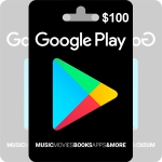 Google Play Gift Card 100$
