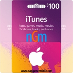 iTunes Gift Card 100$