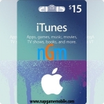 iTunes Gift Card 15$