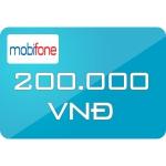Thẻ Cào Mobifone 200.000đ