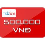 Thẻ Cào Mobifone 500.000đ