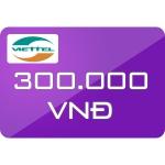 Thẻ Cào Viettel 300.000đ