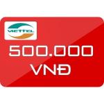 Thẻ Cào Viettel 500.000đ