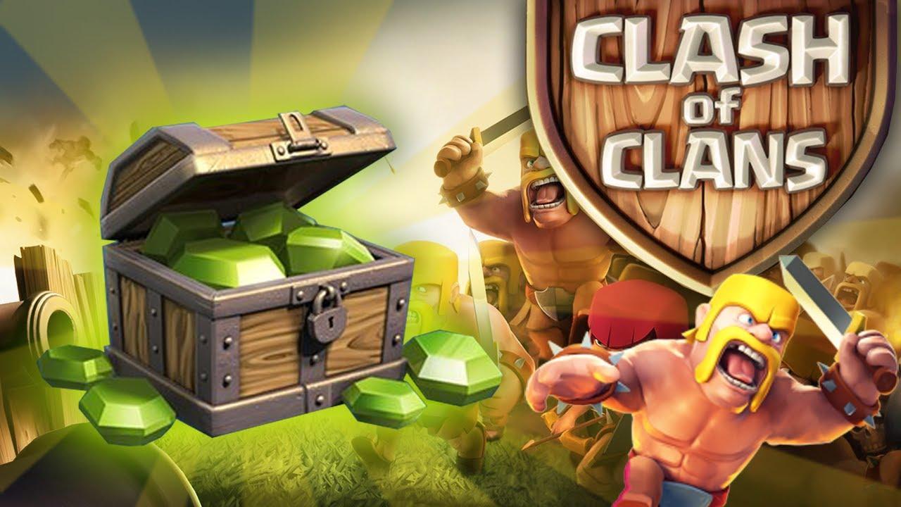 Nạp Gems cho Clash Of Clans để mua được nhiều vật phẩm
