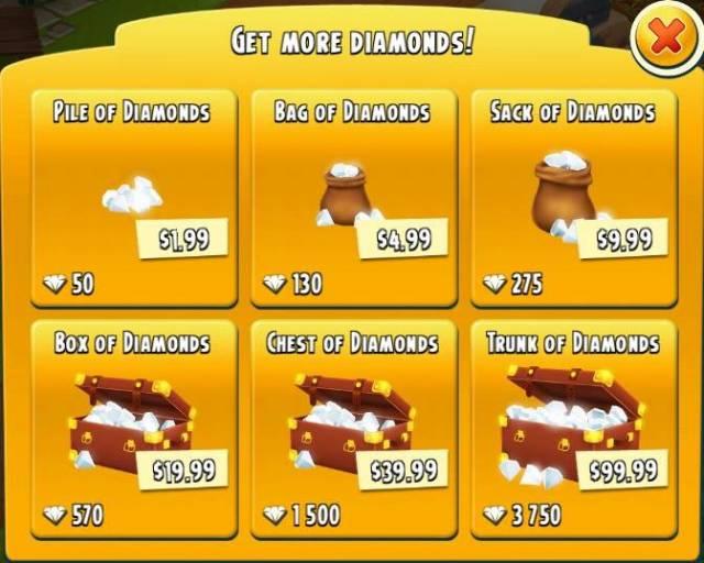 Nạp kim cương Hay Day nhanh chóng tại napgamemobile.com