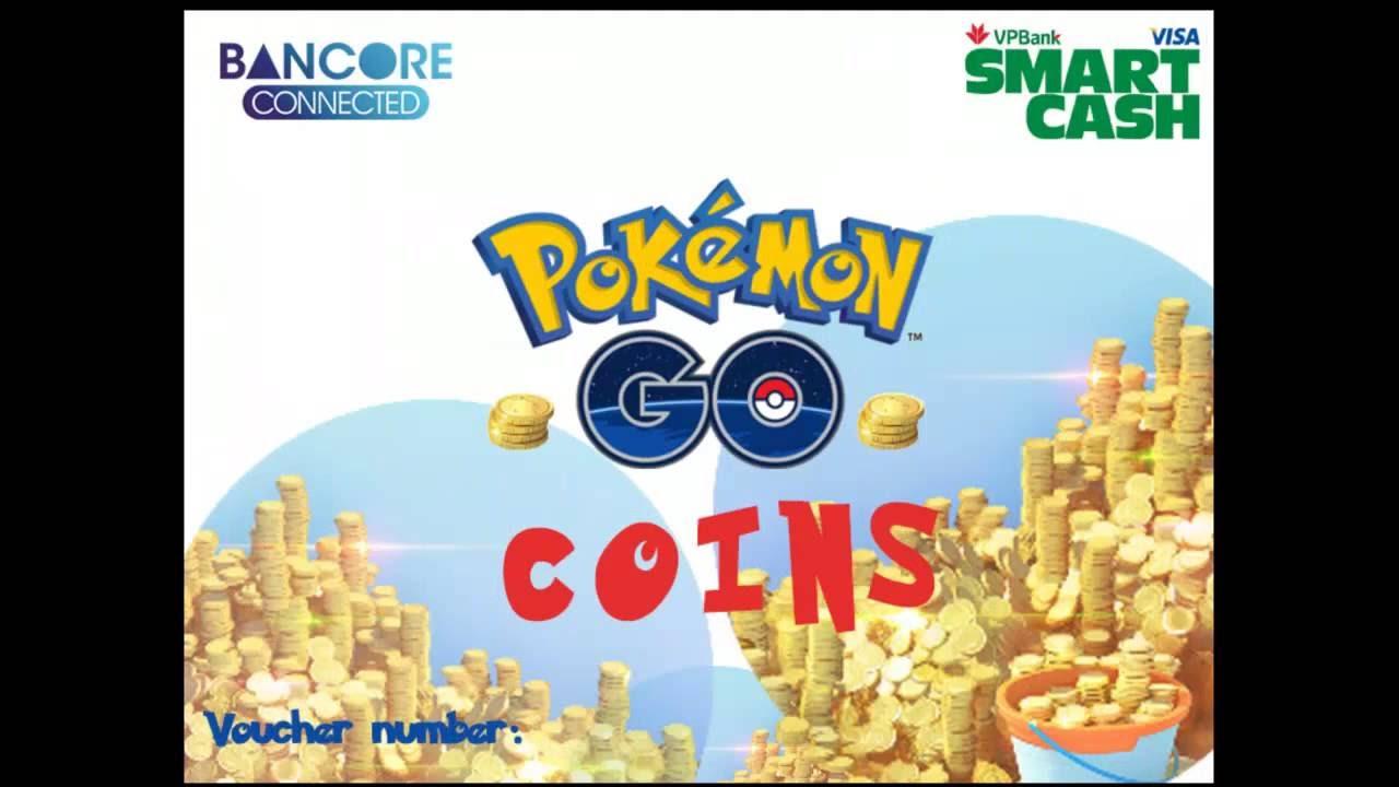 Nạp PokeCoins Pokemon để mua sắm vật phẩm