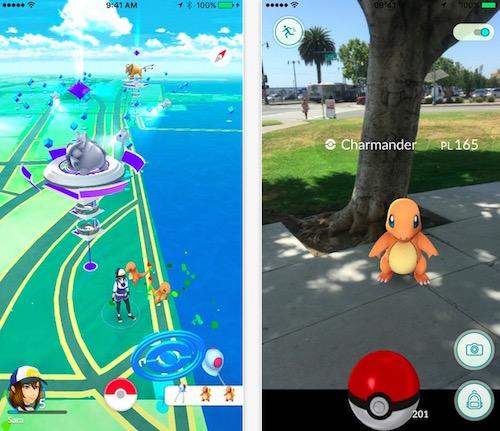 Game Pokémon Go hấp dẫn và thú vị