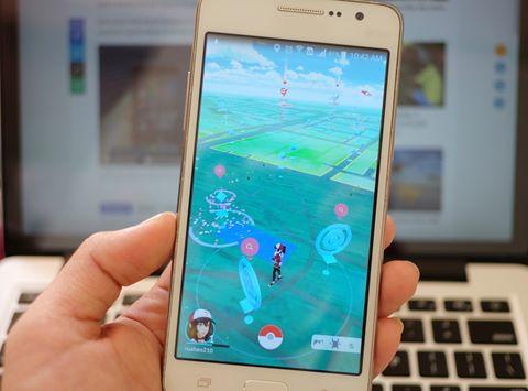 Game Pokémon Go trên điện thoại Oppo