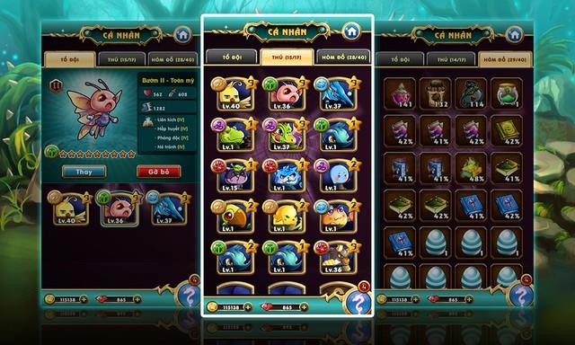 Game Thú Vương cho iPad Mini 3