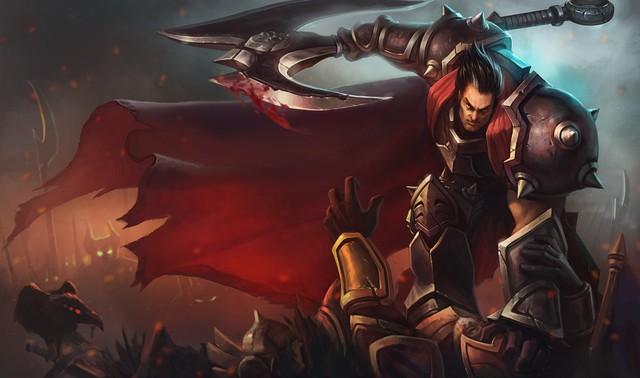 Hình ảnh tướng Darius khi ra trận