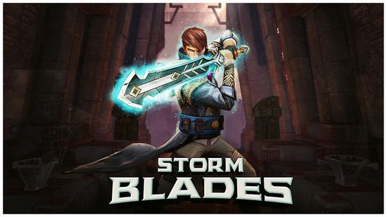 Giao diện game StormBlades