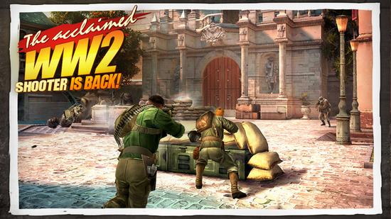 Giao diện game Brothers in Arms 3: Sons of War