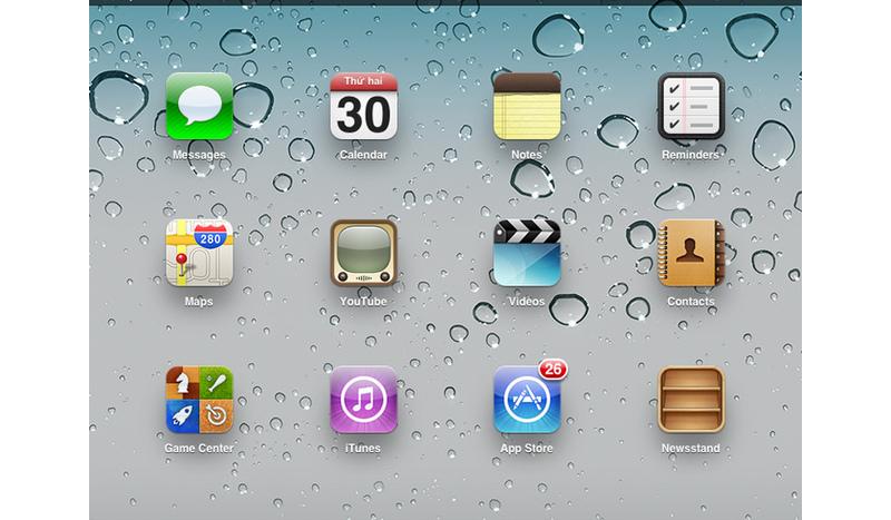 Giao diện để bạn vào App Store