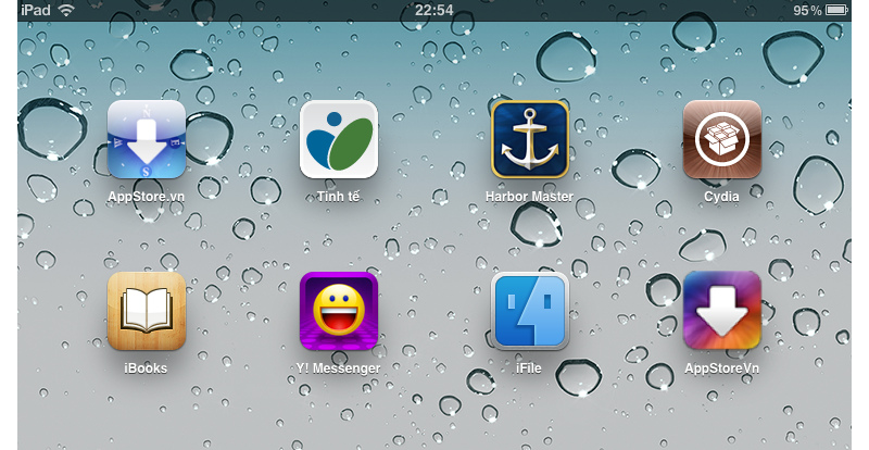 Biểu tượng Cydia trên Ipad